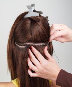 Hairweave Extensions plaatsen
